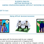 Business English - Meeting Procedure - Making concessions