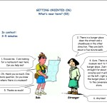 Social English - Getting oriented - What's near here